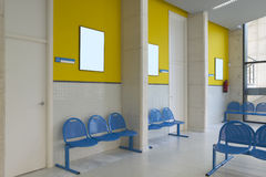 Waiting area and surgery rooms at Clinic center Stock Photo