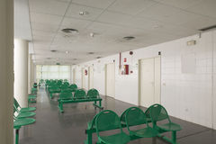 Waiting area and surgery rooms at medical center Royalty Free Stock Images