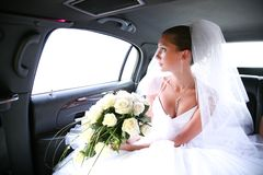 Waiting bride Royalty Free Stock Image