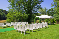 Waiting for Bride and Bridegroom Royalty Free Stock Photo