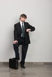 Waiting businessman Royalty Free Stock Image