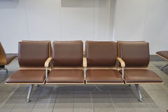 Waiting chairs. Stock Photo