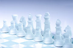 Waiting for chess Royalty Free Stock Photography