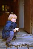 Waiting child Royalty Free Stock Image