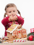 Waiting for Christmas Royalty Free Stock Photos