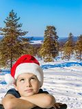 Waiting for Christmas Royalty Free Stock Images