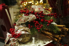 Waiting for Christmas. Special ideas for Christmas decorations Royalty Free Stock Image