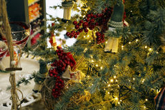 Waiting for Christmas. Special ideas for Christmas decorations Stock Photos