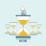 Waiting concept Stock Images