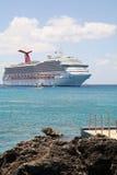 Waiting Cruise Ship Stock Photography