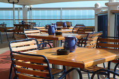 Waiting for Customers. Tables waiting for customers Royalty Free Stock Photo