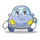 Waiting cute car character cartoon Stock Photography