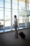 Waiting of departure Royalty Free Stock Image