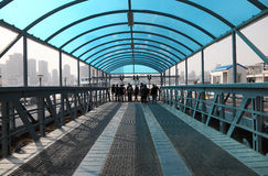 Waiting for the ferry, Shanghai Stock Image