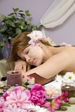 Waiting For A Massage Royalty Free Stock Images