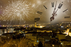 Free Waiting For New Years Eve Royalty Free Stock Images - 36077299
