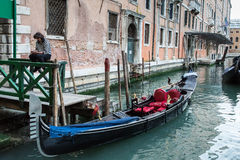 Waiting Gondola Stock Photography