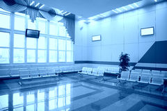 Waiting hall Stock Images