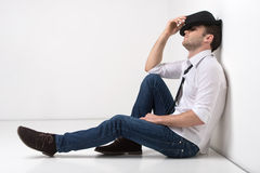 Waiting for inspiration. Royalty Free Stock Photo