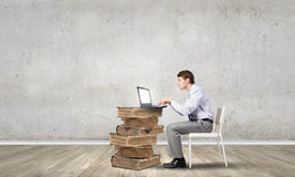 Waiting for inspiration! Royalty Free Stock Image