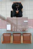 Waiting for interview 2 Stock Photo