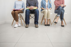 Waiting for interview Royalty Free Stock Images