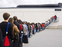 Waiting in Line royalty free stock photography