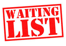 WAITING LIST Royalty Free Stock Photography