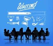 Waiting Loading Uploading Downloading Progress Concept Royalty Free Stock Photo