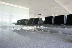 Waiting lounge. Empty waiting lounge at the airport Royalty Free Stock Image