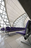 Waiting lounge. One of the waiting lounges in Bangkok international airport Royalty Free Stock Images