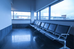 Waiting lounge with empty seats Royalty Free Stock Photography