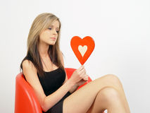 Waiting for love Stock Images