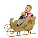 Waiting for My Sleigh Ride stock photography