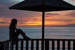 Waiting for a new day Royalty Free Stock Images