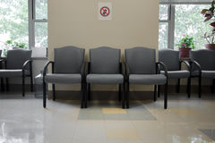 Waiting room. At the doctor's office Royalty Free Stock Photo