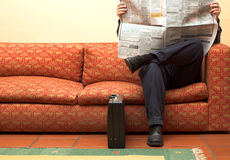 The Waiting Room Stock Images