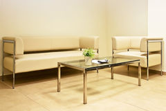 Waiting room. At architecture ofice Royalty Free Stock Photography