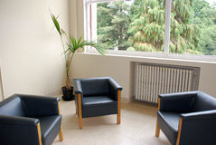 Waiting Room. A luxury waiting room in a Portuguese house Royalty Free Stock Photo