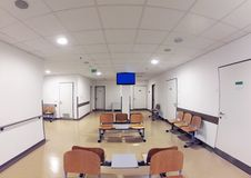 Waiting Room. Simple Waiting Room in Hospital Royalty Free Stock Photo