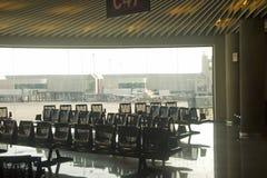Waiting room. Waiting, room on majorca airport Royalty Free Stock Image