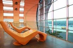 Waiting room at Airport Royalty Free Stock Photo