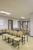 Waiting room area with empty seats Stock Photography