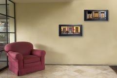 Waiting room Royalty Free Stock Image