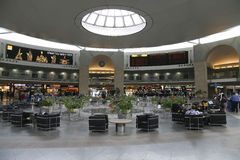 The waiting room at Ben Gurion airport, Tel Aviv Royalty Free Stock Images