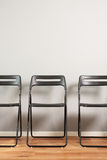 Waiting room with chairs Stock Photo