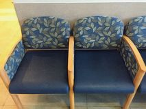 Waiting Room Chairs Stock Photography