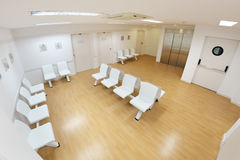 Waiting room in a clinic Stock Photography