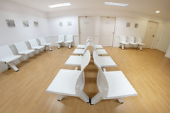 Waiting room in a clinic Royalty Free Stock Images