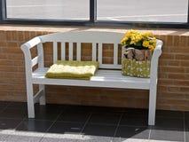 Waiting room corner Royalty Free Stock Photo